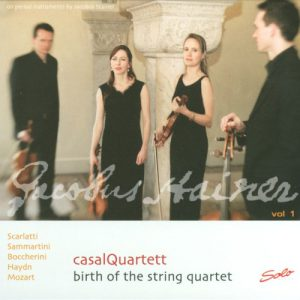 casalQuartett - Birth of the String Quartett Vol. 1