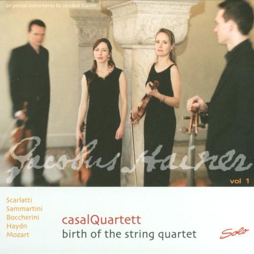 casalQuartett - Birth of the String Quartett Vol. 1