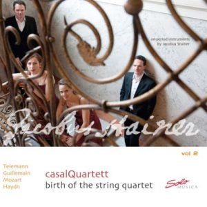 casalQuartett - Birth of the String Quartett Vol. 2