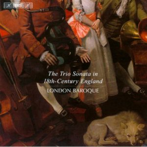 London Baroque, Die Triosonate in England im 18. Jhd
