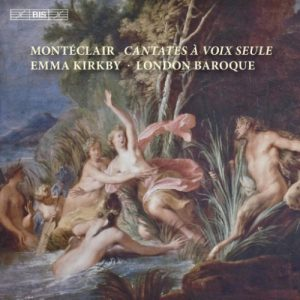 London Baroque, Montéclair – Cantates à voix seule