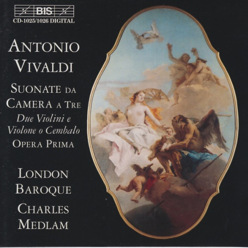 London Baroque, Vivaldi - Triosonaten Op.1