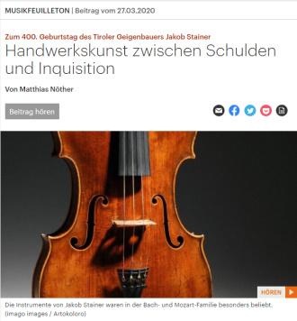 Deutschlandfunk Kultur 27.03.2020